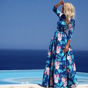 free-shipping-2016-summer-women-one-piece-font-b-dress-b-font-blue-font-b-pink